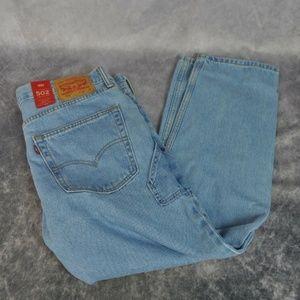 LEVI'S 502 Men's 34W x 32L Light Wash Jeans